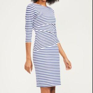 J. McLaughlin Nicola Striped Dress Size Medium EUC